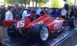 New Dallara Indy Lights chassis uncovered