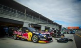 GALLERY: V8 Supercars set-up at Barbagallo