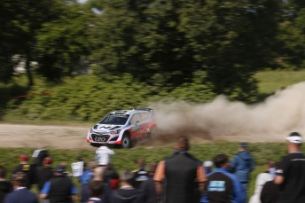 Hayden Paddon is knocking on the top-10