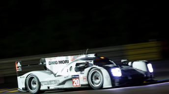 Brendon Hartley claims fastest time in the opening qualifying run at Le Mans