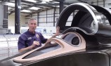 VIDEO: Andy Green reveals 1600km/h racer