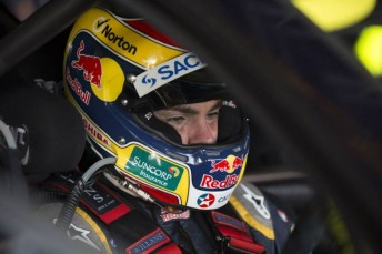 Craig Lowndes sits second in points ahead of Hidden Valley