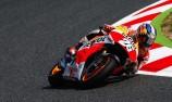 Pedrosa pounces as Marquez falls in Barcelona