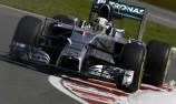 Hamilton leads Rosberg in Montreal practice