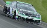 Denny Hamlin delivers Pocono 400 pole