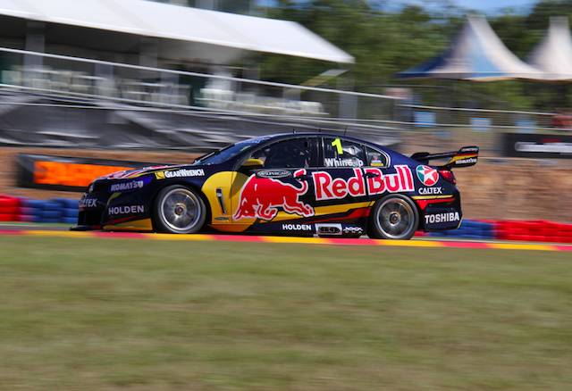 Jamie Whincup scored pole for both Saturday races