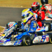 Jett Johnson's karting career hits straps