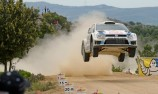 Latvala leads on a dramatic day in Italy