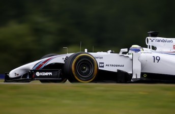 Late effort earns Massa shock Austria pole
