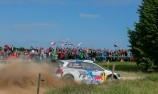 Ogier edges in front at Rally Poland