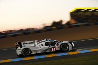 Porsche on provisional Le Mans pole