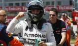 Rosberg edges Hamilton for Montreal pole