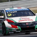 Podium results for Castrol Honda WTCC in Moscow