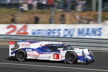 Sebastien Buemi turns fastest lap at Le Mans test