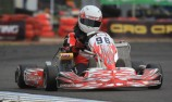 Local driver impresses in Newcastle CIK practice