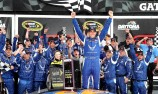 Aric Almirola wins rain shortened Daytona race