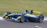 Sebastien Buemi tops maiden Formula E test
