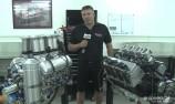 VIDEO: KRE's V8SC engine v Sprintcar unit