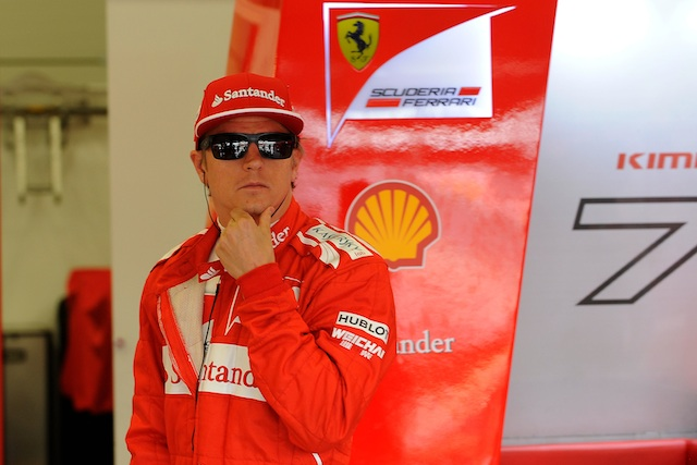 Kimi Raikkonen may miss Silverstone test