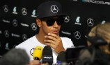 Hamilton sweeps practice as brake probe continues