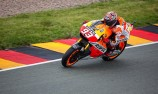 Marquez snatches pole as Pedrosa falls