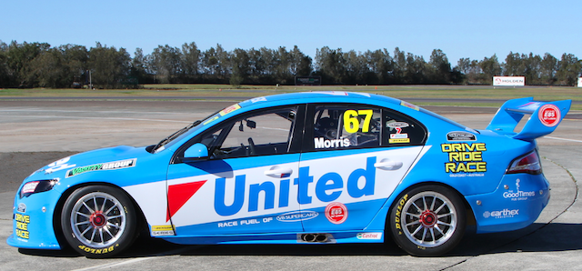 United is also the official fuel supplier of V8 Supercars