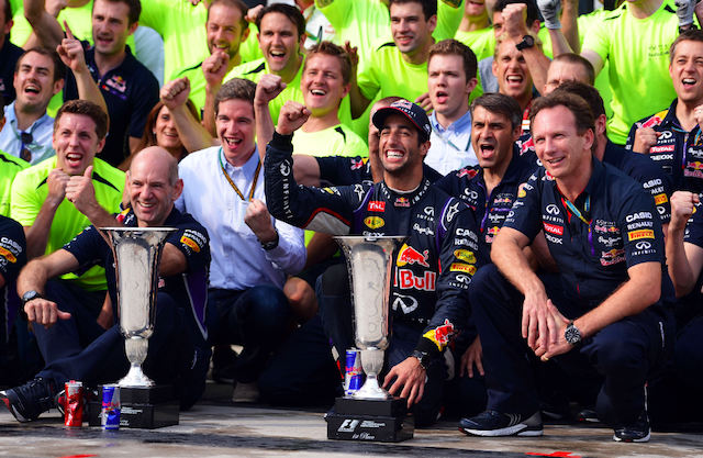 Ricciardo handed Red Bull its second win of the year