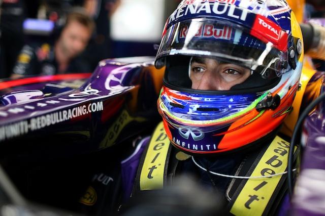 Ricciardo Franchitti Franchitti: Ricciardo is world champion material