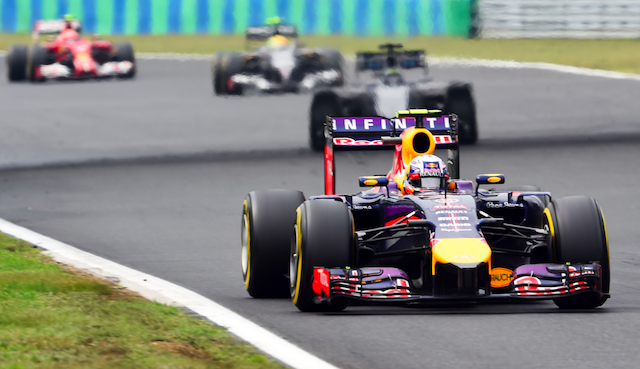 Ricciardo gained track position by being among the first to pit under the early Safety Car