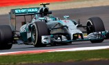 Rosberg storms to Silverstone pole