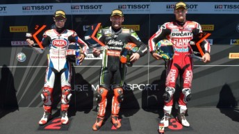 Sykes celebrates another pole position in Portugal