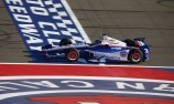 Castroneves wins pole as Power slips at Fontana