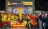 Logano claims third win of 2014 at Bristol