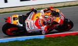 Marquez battles hard to secure Brno pole