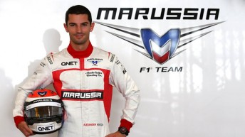 Alexander Rossi to replace Max Chilton at Marussia for  this weekend's Belgian Grand Prix