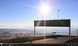 VIDEO: Kicking goals at Mount Panorama
