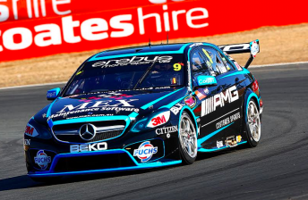 Will Davison continues form in Practice 2