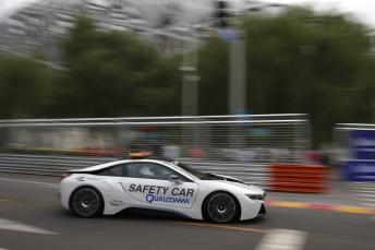 The all new BMW I8 Formula E Safety Car