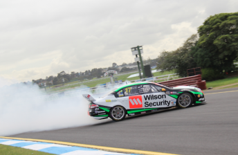 Whincup fastest as DJR strikes early trouble