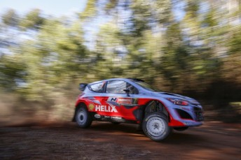 Thierry Neuville admits another Hyundai win seems unlikely at Rally Australia
