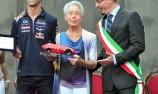 Ricciardo awarded with special Bandini trophy