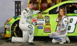 Kyle Busch on pole at Charlotte