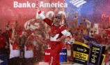 Tempers flare as Harvick wins Charlotte