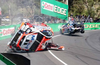 Crashed HRT Commodore 'on scrap heap'