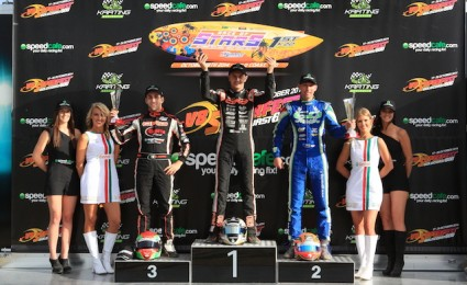 Davide Fore dominates Race of Stars