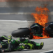 Pol Espargaro suffers foot fracture in fiery crash