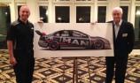Ambrose shows off Penske V8 Supercar livery
