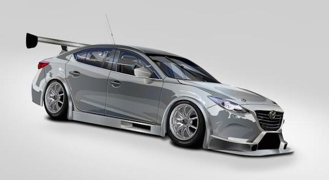MARC confirms Mazda 3 V8 for Bathurst - Speedcafe