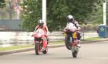 VIDEO: MotoGP stars ride alongside the Yarra