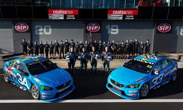 The factory Volvo Polestar Racing operation at Bathurst